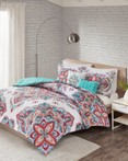 Amari Aqua Indigo by FiveTen 510 Designs Bedding