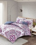 Amari Indigo Purple by FiveTen 510 Designs Bedding