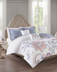 Elizabeth Indigo by FiveTen 510 Designs Bedding
