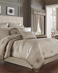 Beaumont Champagne by Five Queens Court Bedding