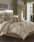 Stanford Mocha by Five Queens Court Bedding