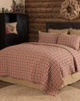 Jonathan Plaid by VHC Brands Quilts