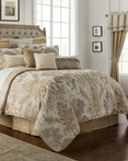 Ansonia Ivory by Waterford Luxury Bedding