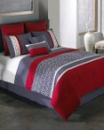Cypress Red by Riverbrook Home Bedding