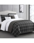 Durham Black by Riverbrook Home Bedding