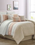 Hanna Coral by Riverbrook Home Bedding