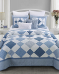 Azure Diamond by Donna Sharp Quilts