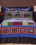 Bear & Basket by Carstens Lodge Bedding