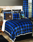 Lumberjack Blue by Carstens Lodge Bedding