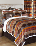 Roaming Bison by Carstens Lodge Bedding