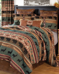 Shagit River by Carstens Lodge Bedding
