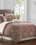 Danehill Red by Waterford Luxury Bedding