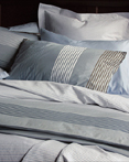 Newman Blue and Newman Blue Solid by Revelle Home Fashions