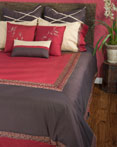 Crimson ''AA' by Rizzy Home Bedding